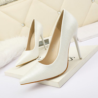 3088-1 han edition fashion pointed shallow mouth high-heeled shoes nightclub show thin and sexy women's shoes with professional OL for women's shoes