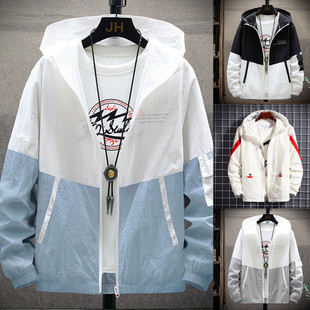 2021 new windbreaker outdoor couples wear sunscreen clothing men's skin clothing men's anti-sack clothing manufacturers one drop