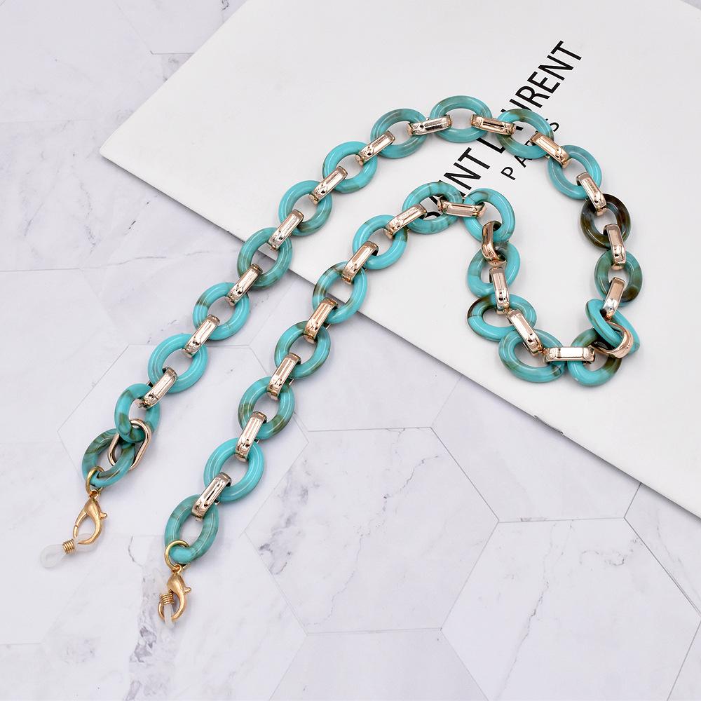 Nihaojewelry retro acrylic antilost glasses chain lanyard wholesale jewelry NHCL383437