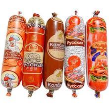 俄罗斯风味香肠卢布肠鸡肉肠牛筋肠开袋即食迷你组合套装500g