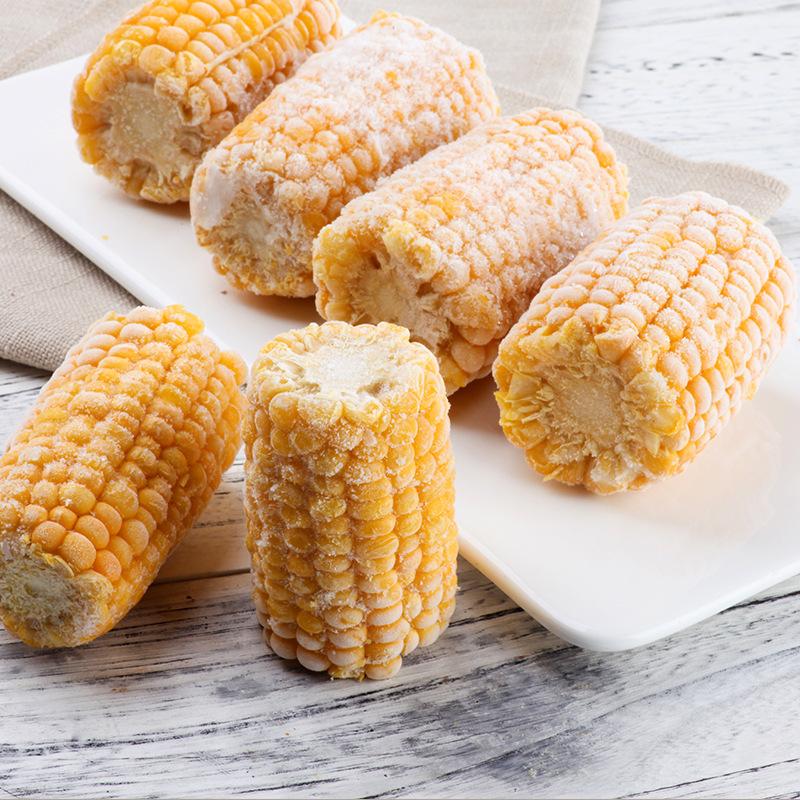 【速冻甜玉米穗】 速冻甜玉米段  公主岭玉米