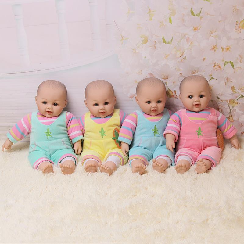 软胶仿真婴儿洋娃娃玩具 通用月嫂培训孕期早教教具普通娃娃宝宝