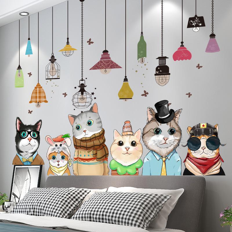 墙贴纸墙壁贴画3D立体卧室背景墙面墙上装饰墙纸自粘房间布置壁纸