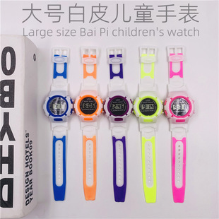 Factory direct sales hot style watches Taobao gifts children jelly watches cartoon boys and girls electronic watches