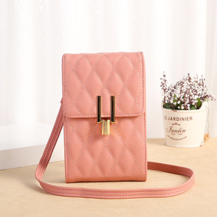 Lonny mobile phone bag female small messenger cute small bag for mobile phone fashion key coin bag vertical