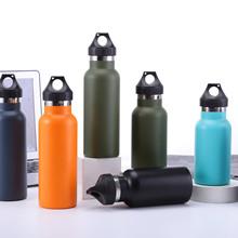 大容量保温杯手提真空运动水壶 美式大口不锈钢保温壶户外