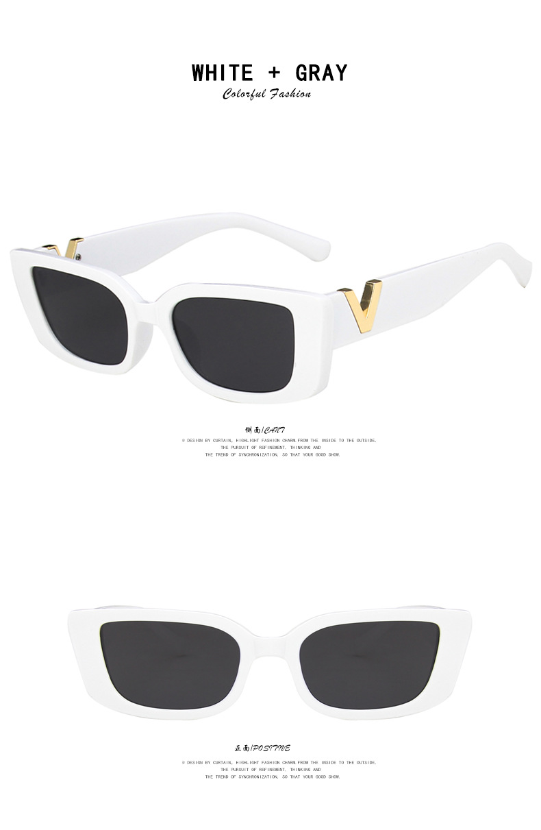fashion small frame square sunglasses  NHKD322659