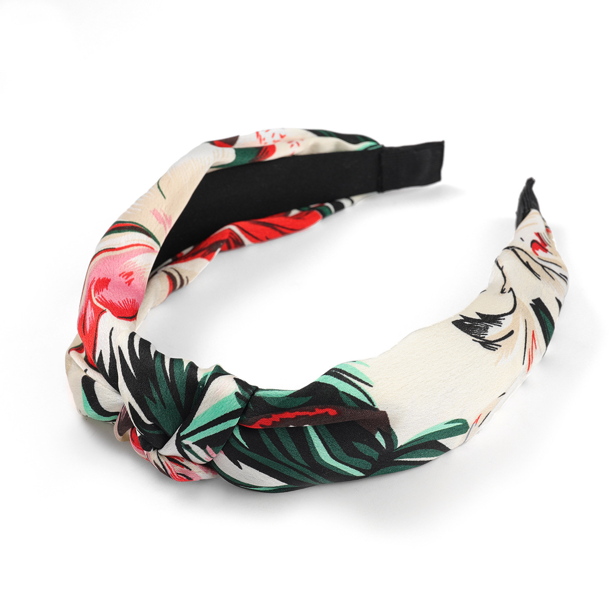 new flower printed knotted headband NHJE315065