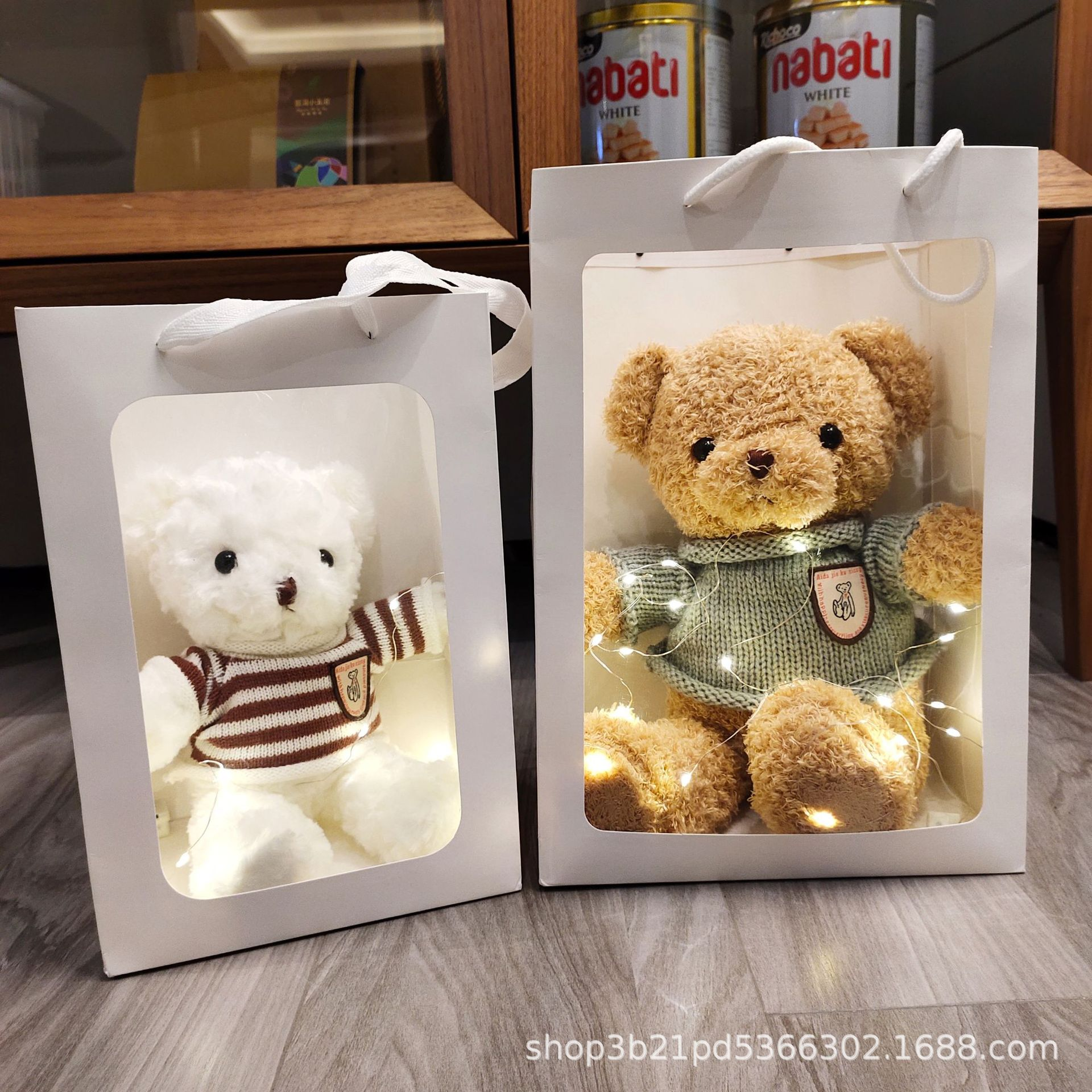 批发泰迪熊毛绒玩具小熊公仔娃娃机地推玩偶学生日礼物女生儿童