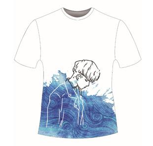 Summer casual anime T-shirt graduation party short-sleeved round collar uniform cultural advertising shirt LOGO manufacturer source