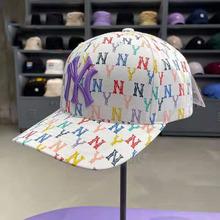 韩版韩国专柜代购 2021春款男女满标棒球帽子一件代发户外旅游