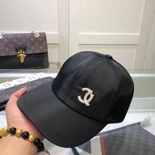 棒球帽黑色透气网红同款鸭舌帽简约走秀棒球帽水桶帽