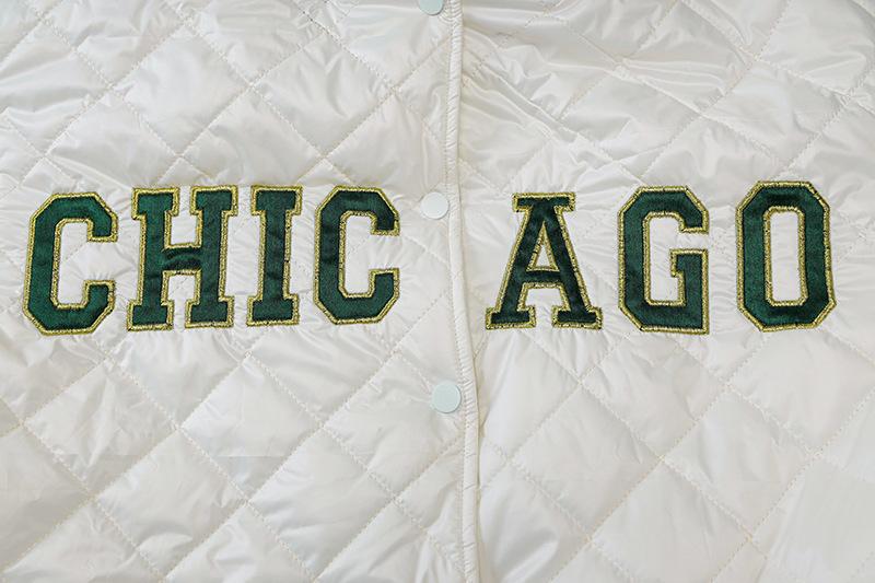 women s letter embroidery baseball jacket nihaostyles clothing wholesale NSXPF78384
