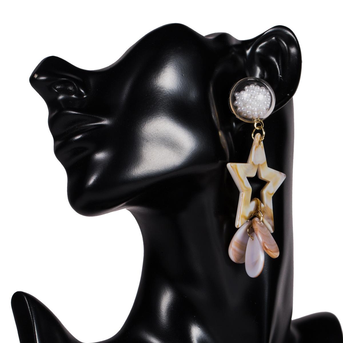 fashion creative alloy woven tassel earrings NHJE311252