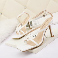3193-2 in Europe and the sexy peep-toe heels show thin high-heeled sandals, fine with party a word web celebrity for women's shoes