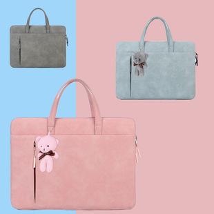 Portable laptop bag, thin and simple liner bag, Apple, Xiaomi, Huawei, ultrabook laptop bag, female