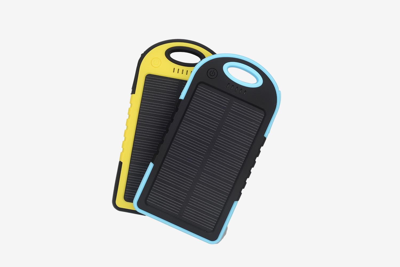 小三防太阳能移电源套料三防户外充电宝外贸直供