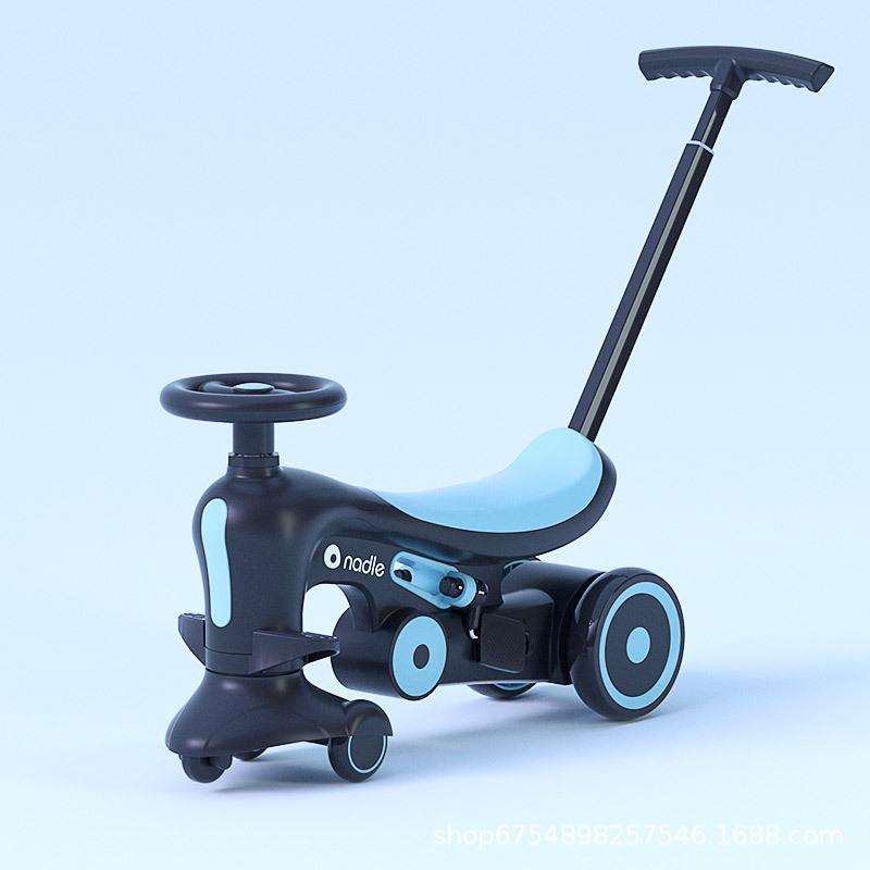 扭扭车儿童溜溜车滑行车平衡车三轮车脚踏车多功能宝宝车手推车