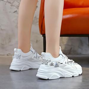 X-26261# 老爹鞋女新款秋季新款透气女鞋韩版鞋子百搭休闲运动鞋 鞋子批发女鞋直播货源