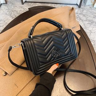2021 new women's bag, shoulder bag, messenger bag, small fragrance handbag, small square bag, cross-border foreign trade processing customization