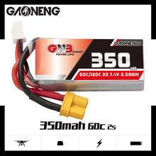 高能GNB 350mAh 7.4V 2S 60C 锂电池GAONENG LiPo