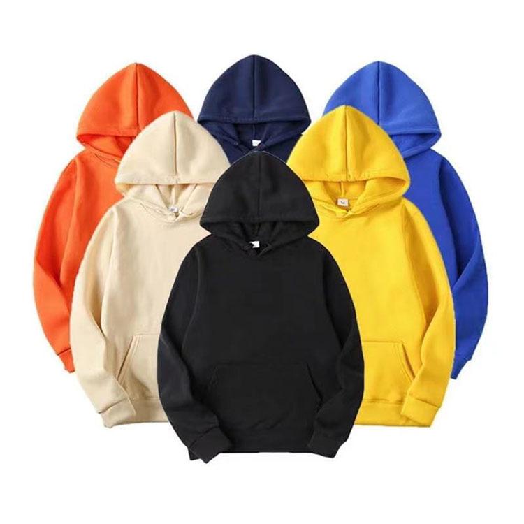 外贸新款秋冬季男士大码跑步运动套头连帽衫长袖健身时尚休闲卫衣