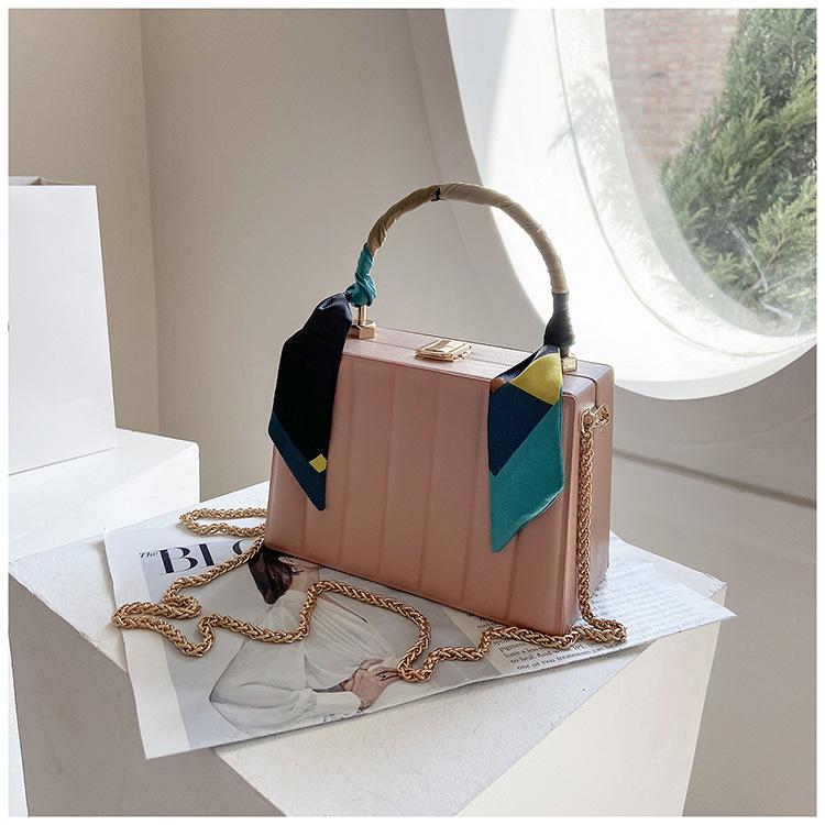 Fashion rhombus messenger bag small square bag NHJZ337442