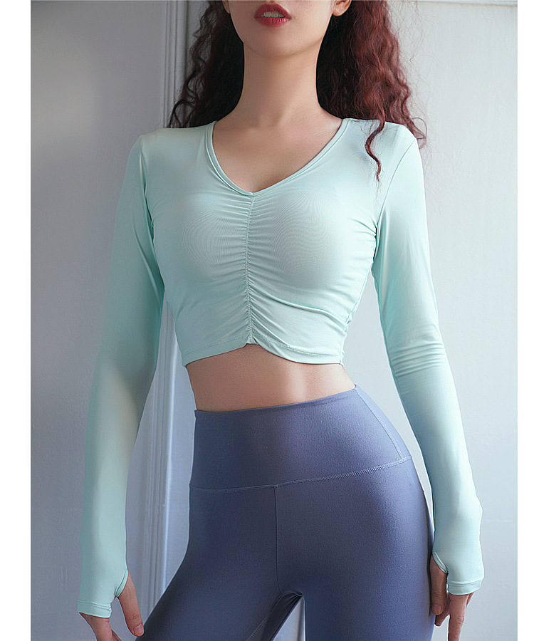 long-sleeved tight-fitting running top NSRMA54208