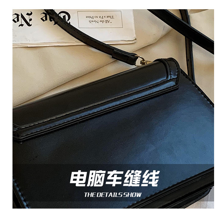 fashion one-shoulder black bag  NHTG304315