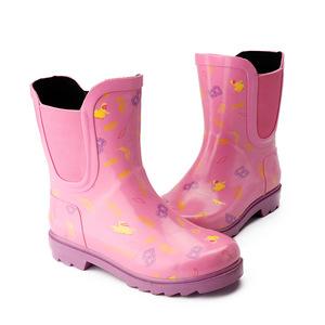 ស្បែកជើង នារី Girl Rubber Non-Slip Rain Boots PZ560686