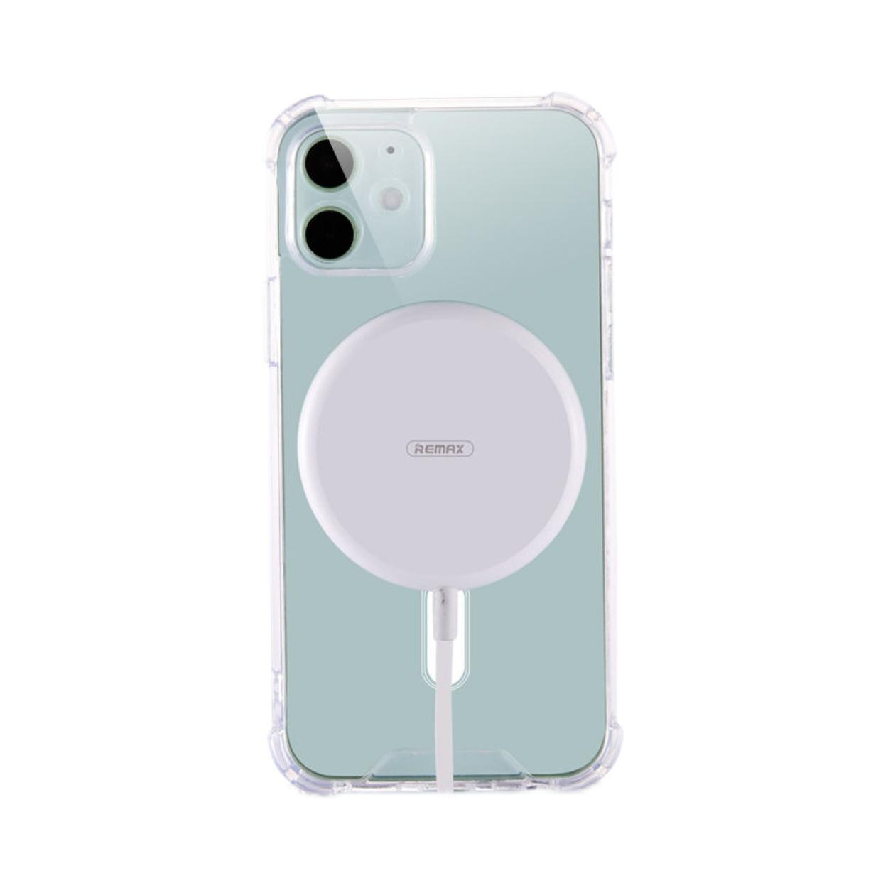 适用 Iphone13手机壳Magsafe无线磁吸苹果防摔透明保护套13promax