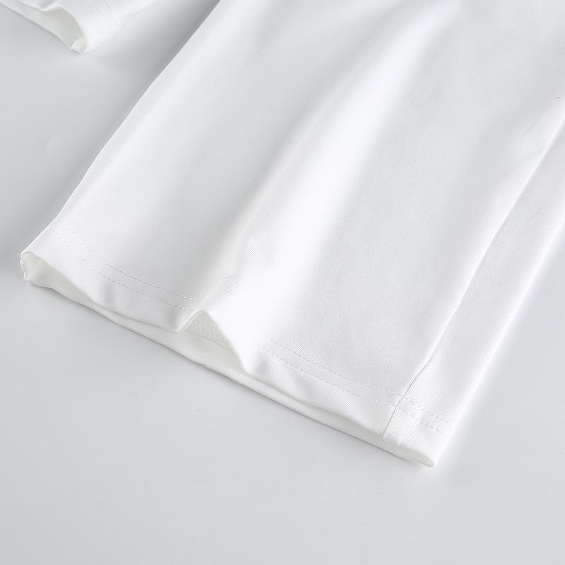 halter hollow straps pleated halter vest high waist casual pants set NSRUI51594
