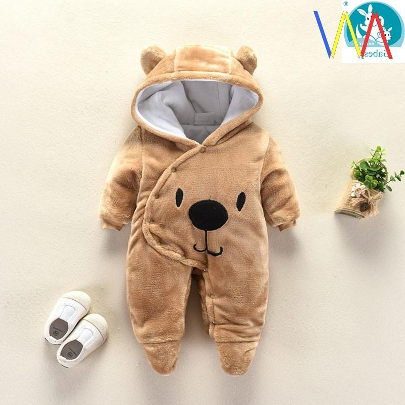 Hooded new born Baby Rompers For Babies