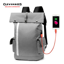 Notebook backpack student rechargeable packsack laptop bag