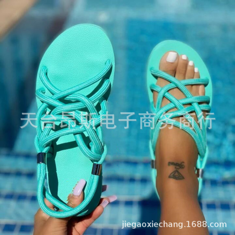Foreign trade plus size women's sandals...