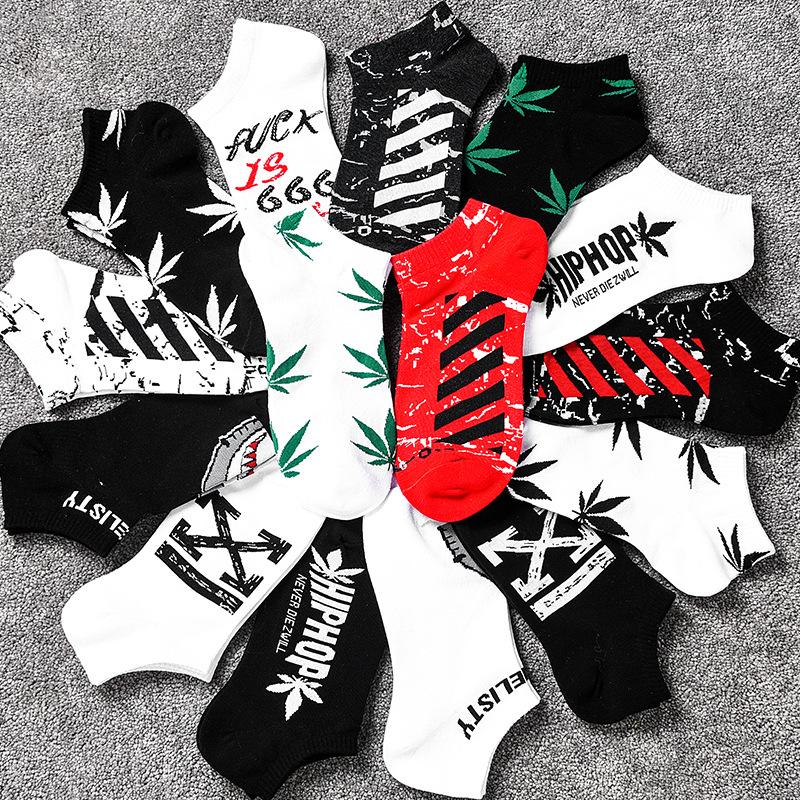 短袜子男女款篮球运动船袜嘻哈原宿ins风厂家直批春夏季潮流袜子