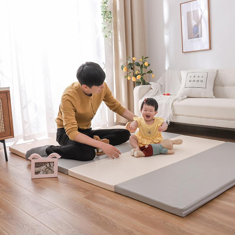 宝宝爬爬垫一件包邮XPE折叠4CM定制围栏客厅加厚婴儿童爬行垫
