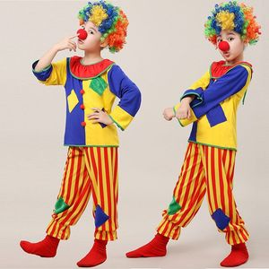 Children's clown costumes funny costumes boy girls party cosplay carnival costume