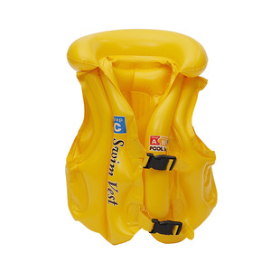Children's inflatable life jackets kids inflatable letters ABC swimming vest swimsuits learn to swim inflatable swimsuits