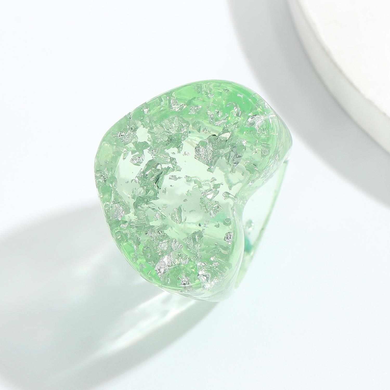 fashion geometric resin ring  NHJQ336284