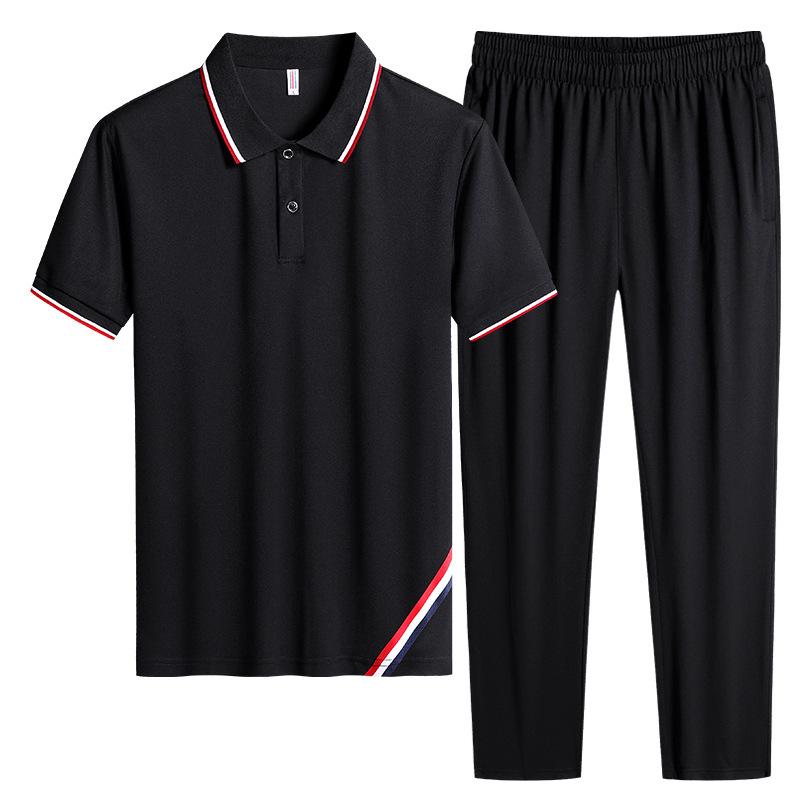 ឈុត កីឡា ខោអាវ ហាត់ប្រាណ Men CLOTHING CASUAL SPORTS SHOES FITNESS SUIT PZ535940