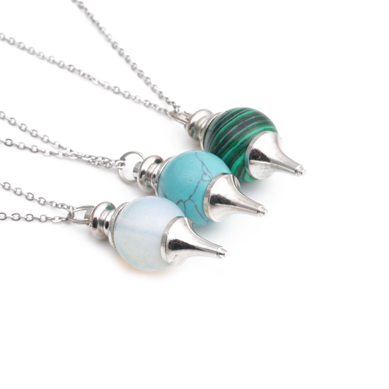 Fashion Hollow Round Stainless Steel Necklace Wholesale NHYL331854