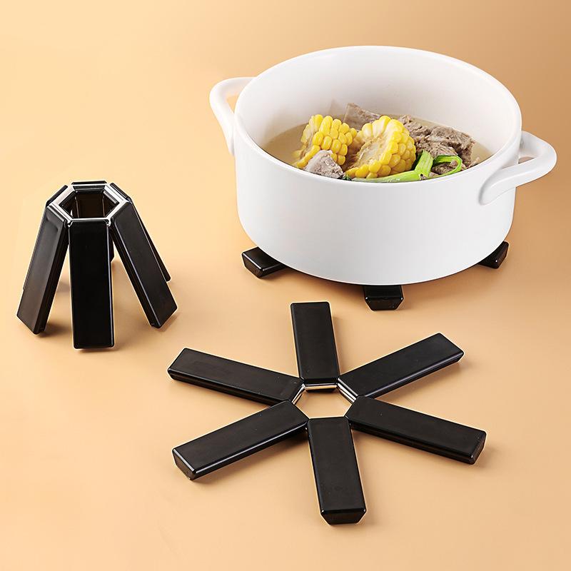 新款现货 可折叠锅垫家用厨房创意便携式隔热防烫碗盘餐垫杯垫