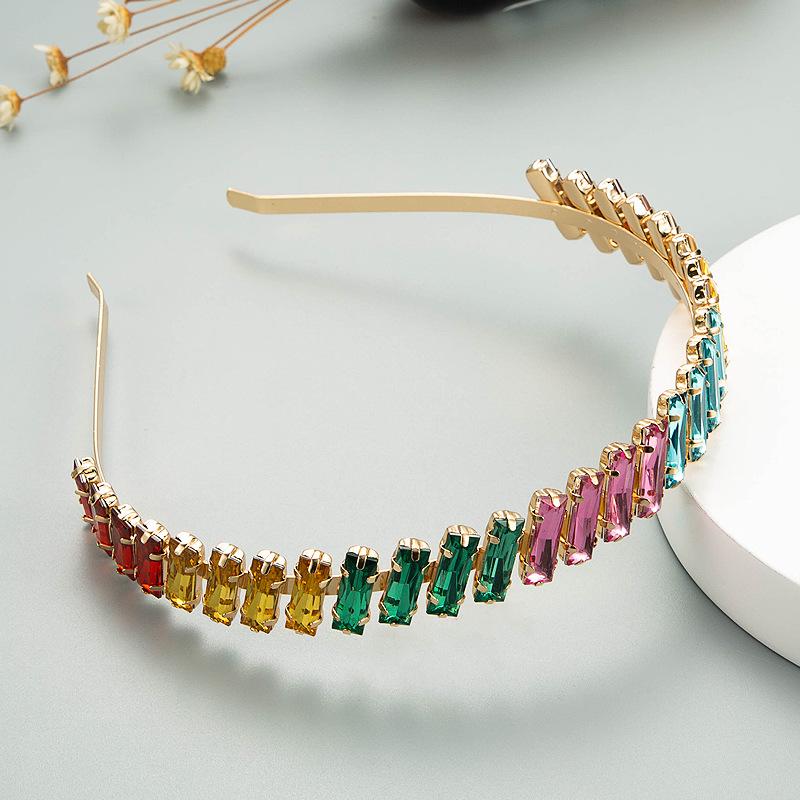 Korean fashion rhinestone headband NHLN333315