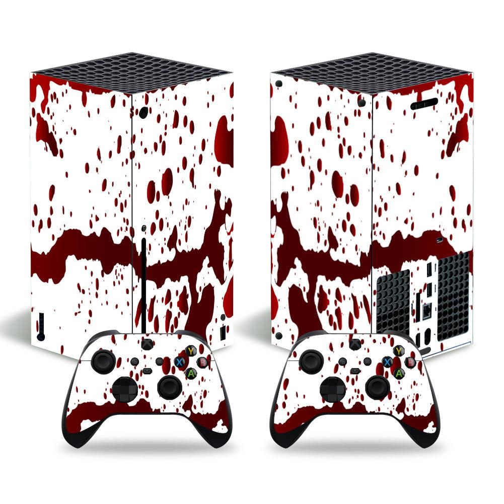 豬仔樂園~游戲機 Xbox Series X主機全包貼紙 手柄貼紙 卡通膜skin sticker