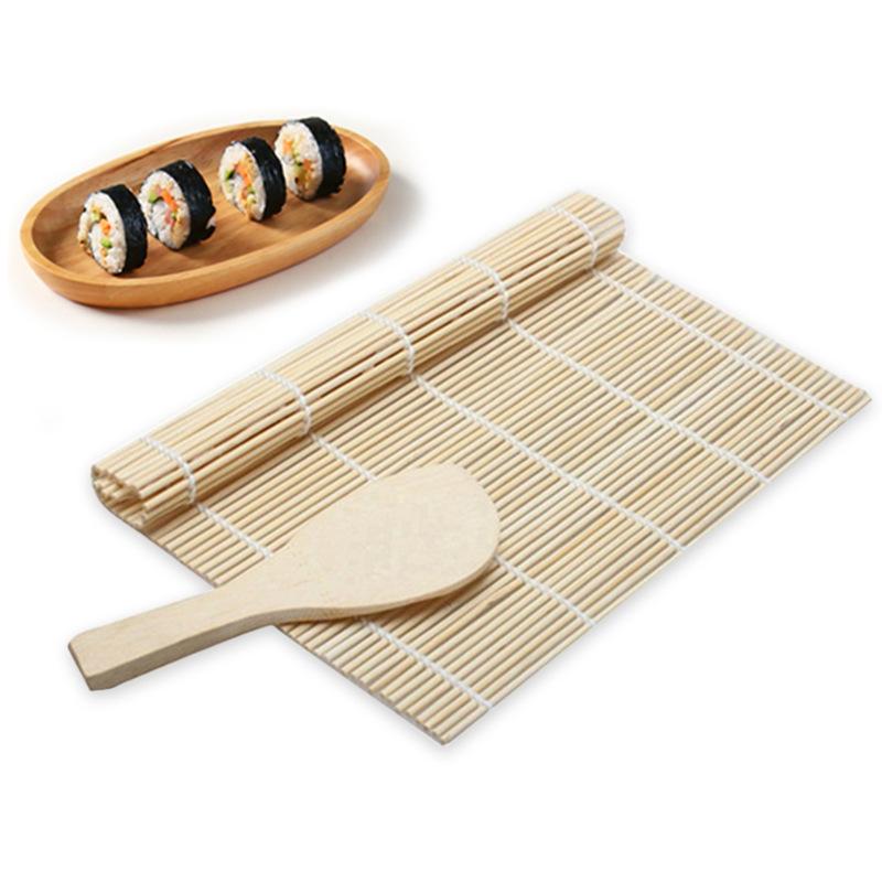 寿司帘/寿司卷帘/竹帘/做寿司的工具/白皮帘子套装 JJ11093