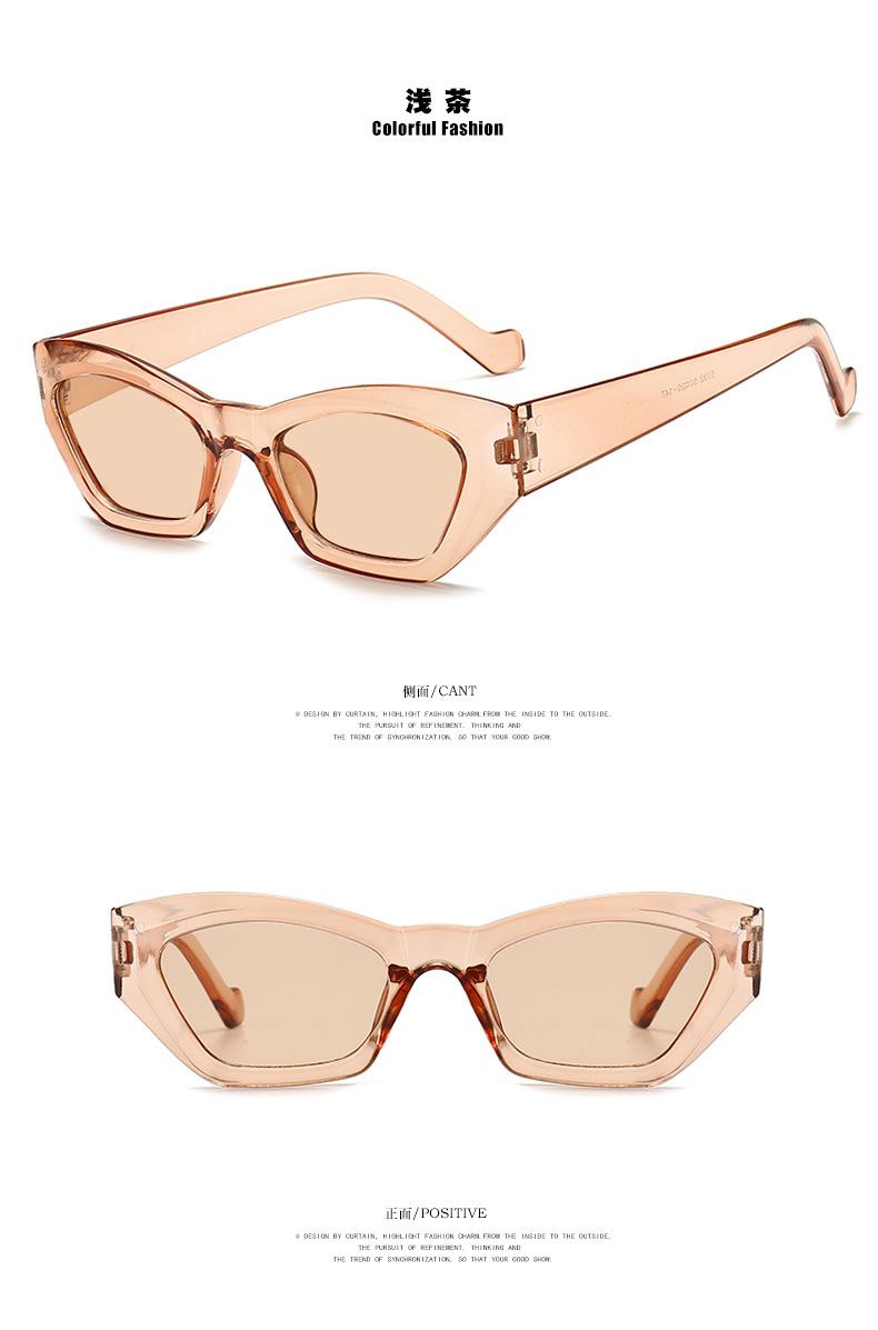 irregular retro sunglasses NHKD302175