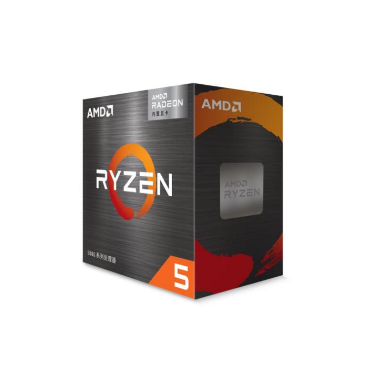AMD锐龙R5 5600G处理器台式机带核显6核12线程65W AM4接口盒装CPU