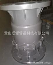 De200-160-140MM 给水管用UPVC法兰式 止回阀-中间阀-逆止阀 灰色