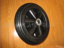 批發供應 發電機腳輪 實心、空心定向橡膠輪 割草機輪子 廠家直銷